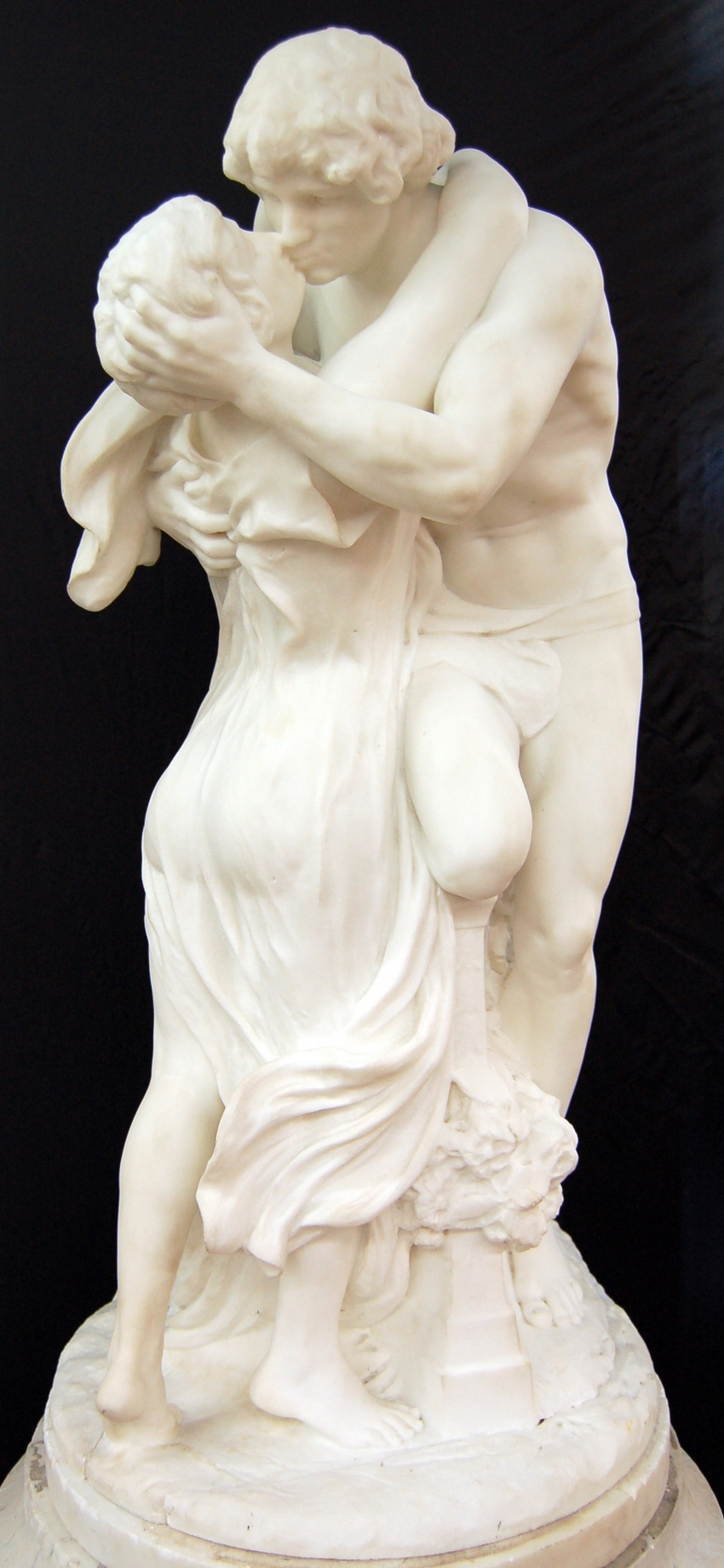 "Marble Sculpture of ""Lovers"""