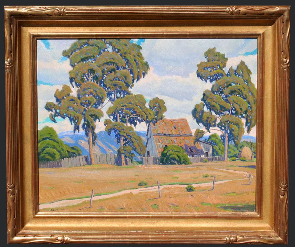 Gilbert – Tall Trees 24×30 8049 Framed