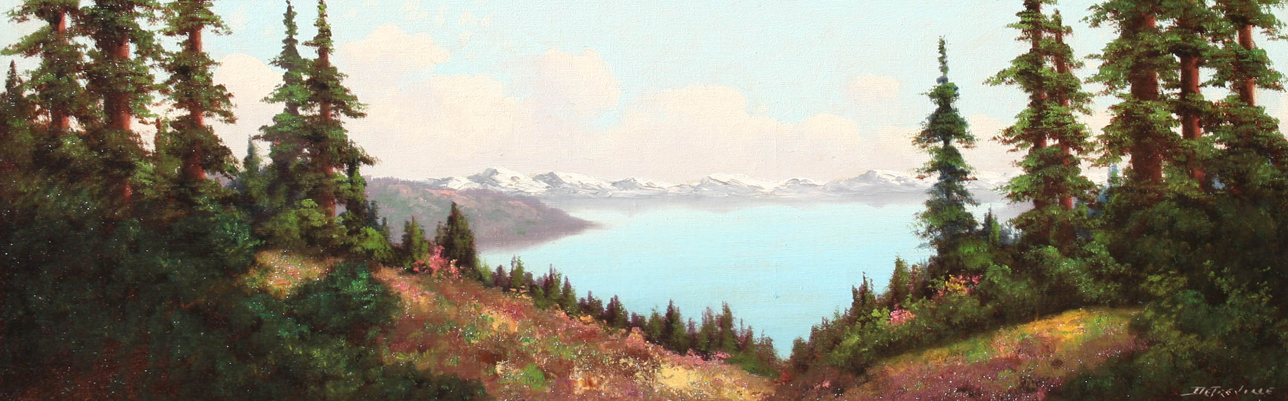 Detreville – Lake Tahoe 10×30.5 8070