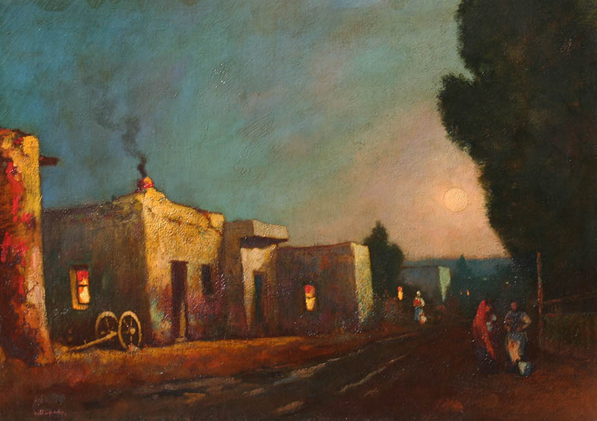 Sparks – Sunset at a Mexican House 20×28 8066 Frameless Large