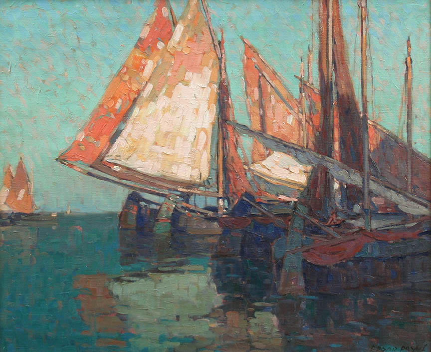 Payne – Boats of the Adriatic 28×34 8199 Frameless Large